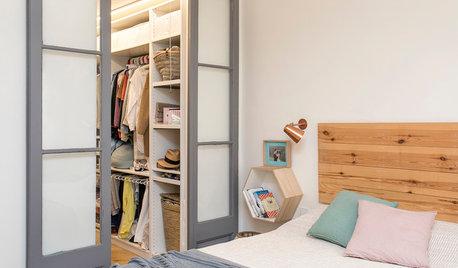 Orden en casa: 5 armarios y vestidores pequeños bien aprovechados