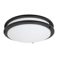 led flush mount fixture lithonia lighting maxxima 14inch black round led ceiling mount fixture 3000k warm white 50 most popular flushmount lights for 2018 houzz