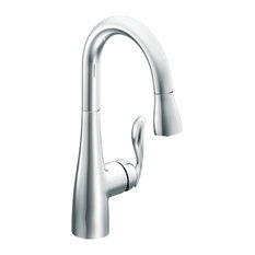 Moen Arbor Chrome 1-Handle High Arc Pulldown Bar Faucet