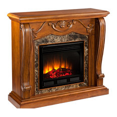 Southern Enterprises   Cardona Traditional Electric Fireplace   Indoor  Fireplaces