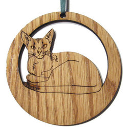 Contemporary Christmas Ornaments by CritterGiftShop