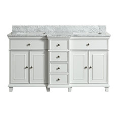 Loretta White Bathroom Vanity, 60''