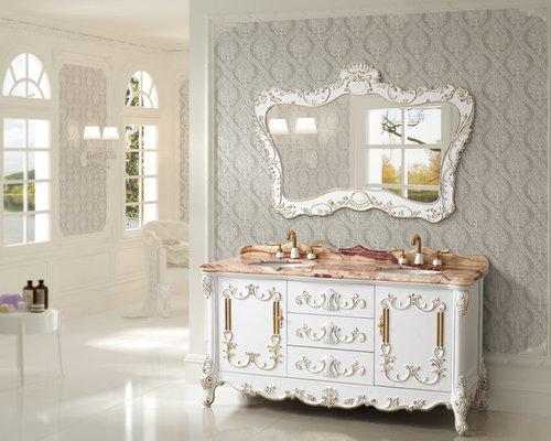 Amazing Virtu USA Casablanca 38in Antique White Single Bathroom VanityCream