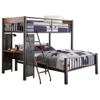 Rowe Twin Over Full Loft Bed With Ladder