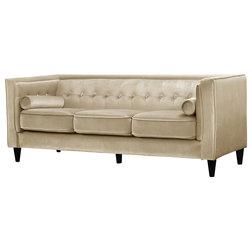 Midcentury Sofas by Meridian Furniture