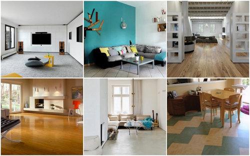 Holzfußboden Im Küchenbereich ~ Umfrage: welchen bodenbelag hast du in deinem wohnzimmer?