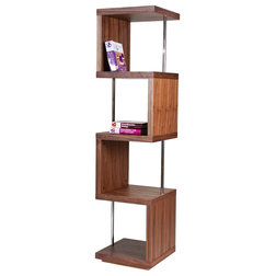 Contemporary Bookcases by Pangea Home