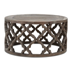 Cranleigh Moroccan-Style Reclaimed Wood Coffee Table