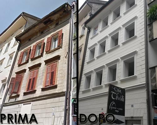 Restauro palazzi storici - Cornici esterne per finestre ...