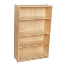 """Contender Baltic Birch Bookcase 47"""" H - Unassembled"""