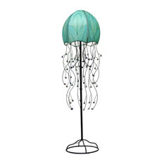 Jellyfish Floor Lamp, Sea Blue