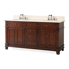 "70"" Sanford Double Sink Classic Bath Vanity"