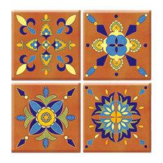 En Provence Peel and Stick Tiles, 4-Piece Set