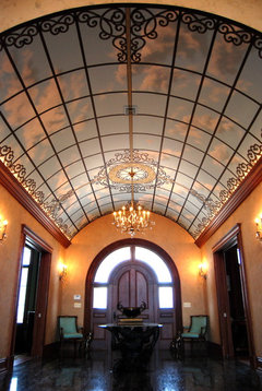 The Space Above Beautiful Barrel Vaulted Ceilings