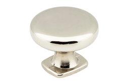 Jeffrey Alexander MO6303 Belcastel 1-3/8 Inch Mushroom Cabinet - Nickel