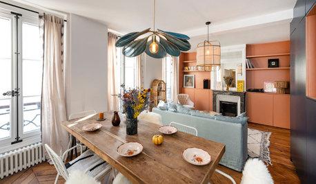 Visite Privée : Un 55 m2 coloré gagne une chambre supplémentaire