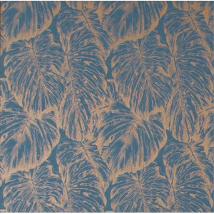 Tropical Floral Wallpaper, Aegean, Roll