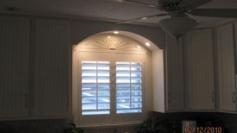 Highlite eyebrow over shutters