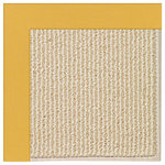 "Capel Rugs - Zoe-Beach Sisal Machine Tufted Rectangle Rug, Jonquil, 10'x10' - Durable, elegant and infinitely customizable, Capel's machine tufted collections give you unmatched flexibility in mixing and matching intriguing textured base rugs with different border fabrics. Features: Construction: Machine Tufted Country of Origin: USASpecifications: Pile Height: 3/8"" - 1/2"""