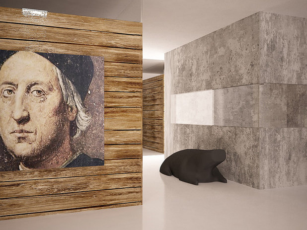 Современный Рендеринг by SHKAF interior architects