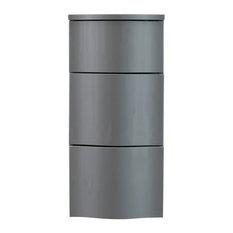 Carioca Bathroom Cabinet, Ash Grey