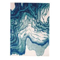 "Weave & Wander Omari Rug, Atlantic, 4'3""x6'3"""