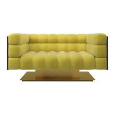 Marioni.it - Marioni Montgomery Yellow Sofa, 2-Seater - Sofas