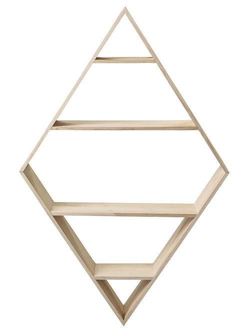 Diamond Hylla 140cm - Display & væghylder