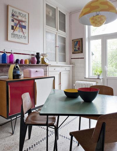 Éclectique Salle à Manger by Gestalten