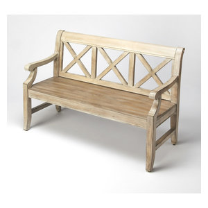 Fawcett Alice In Wonderland Bench Eclectic Accent And Storage Benches By Hedgeapple