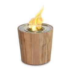 Indoor/Outdoor Fireplace, Sag Harbor Teak Fire Bowl