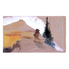 Thomas Moran Sand in the Canyon Wall Decal