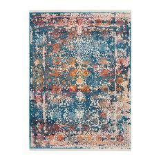 Safavieh   Safavieh Vintage Style Persian Rug, Turquoise And Multicolor,  5u0027x7