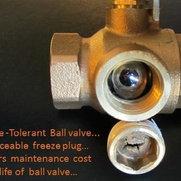 freeze tolerant ball valve Co's photo