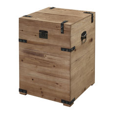 Convenience Concepts   Laredo Trunk End Table   Side Tables And End Tables
