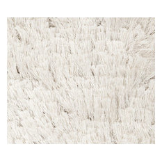 Surya   Plush Whisper 8u0027x10u0027 Rectangle Winter White Area Rug   Area Rugs