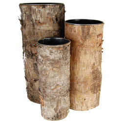 Rustic Vases by CYS EXCEL, INC