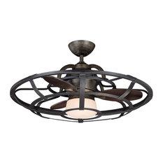Industrial Style Ceiling Fan: Savoy - Alsace Ceiling Fan - Ceiling Fans,Lighting