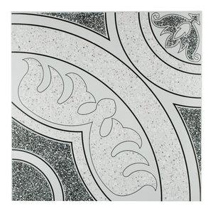 "12.5""x12.5"" Sonaba Ceramic Floor/Wall Tiles, Set of 10, Nero"