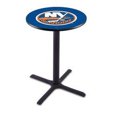 New York Islanders Pub Table by Holland Bar Stool Company
