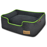 Lounge Bed Urban Plush, Lime, Small