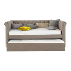 Emily Chesterfield Day Bed, With Upgraded Mattress
