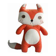"Creative Handmade Lovely Fox Shape Doll, 26"", Large"