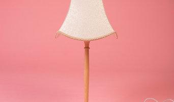 "PORCELAIN TESSERAE TAPERED SQUARE LAMPSHADE – 14"""