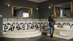 Pittura Lavabile Su Piastrelle : Tutto sulla pittura per le pareti del bagno