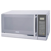 0.7 Cubic Feet Stainless Steel Microwave, Silver
