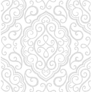 Kaden Bone Branches Wallpaper Sample Contemporary Wallpaper By Brewster Home Fashions