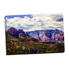 Fine Art Photograph, Red Rock Canyon II, Hand-Stretched Canvas