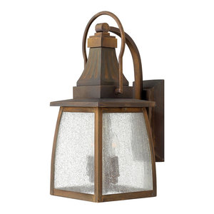 Montauk Outdoor Wall Light, Small