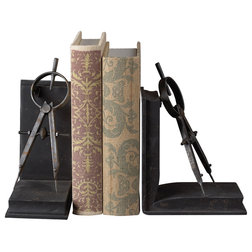 Industrial Bookends by Hansen Wholesale